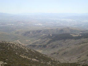 View from top of Peavine