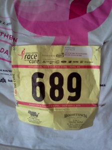 My first race ever - 5k in 31 minutes. - Minha primeira corrida - October 2011
