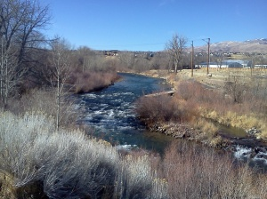 River by Iddlewild Park in Reno