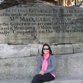 Mrs. Macquarie's chair
