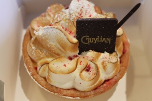 Lemon pie from Guylian