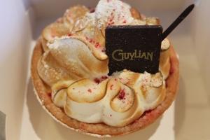 Lemon pie from Guylian