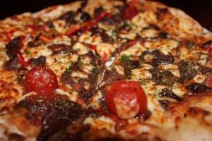 Kangaroo and Emu pizza