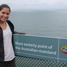 Most eastern point in Australia
