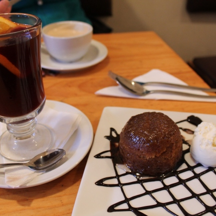 Mulled Wine and Sticky Date Muffin