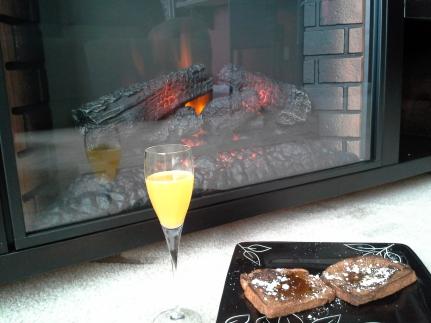 New fireplace!
