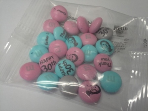 M&M's Party Favors