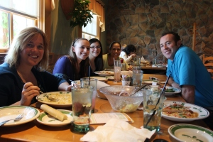 Olive Garden Farewell Lunch