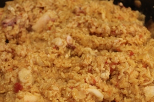 My seafood paella