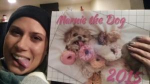 Marnie the dog Calendar