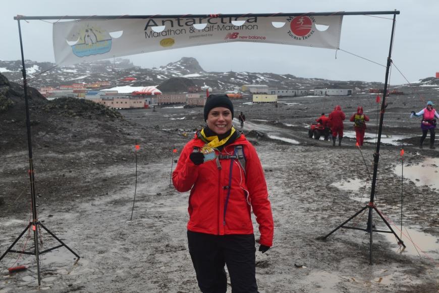 Antarctica Marathon? Check :)