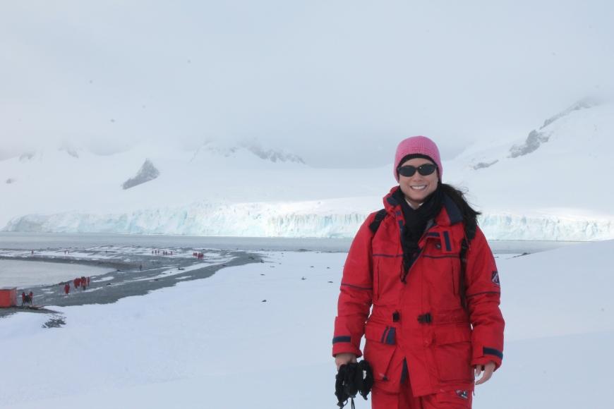 I'm in Antarctica!