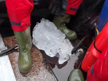 Antarctic Ice Chunk
