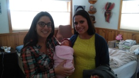 With M. and her daughter S.