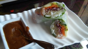 "Spring Rolls from ""My Thai"""