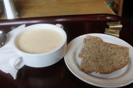 Fish Chowder and Soda Bread