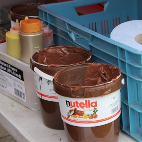 Huge jar of Nutella!