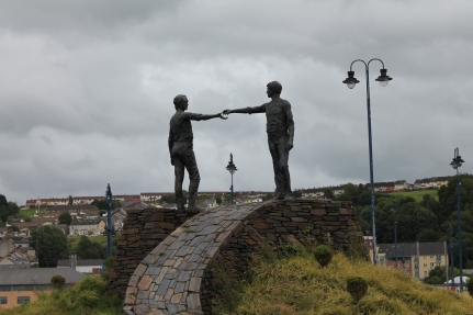 Hands Across the Divide Monument
