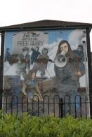 Free Derry Murals