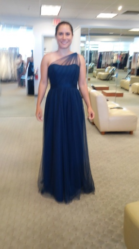 Shopping for bridesmaid dress