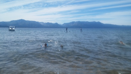 Swimming in Tahoe