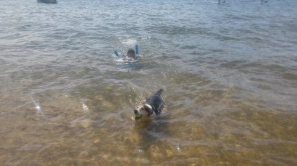 Swimming in Tahoe