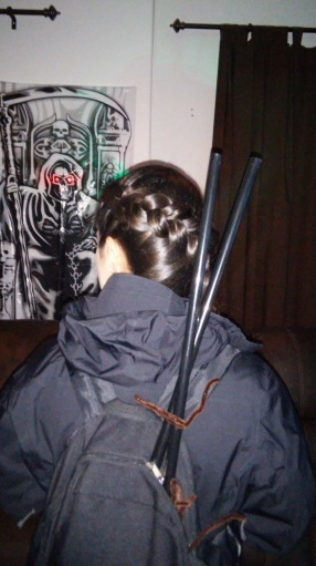 Katniss with braid and all