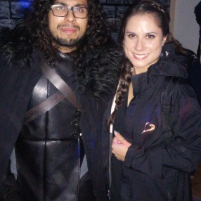 Katniss and John Snow