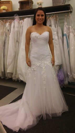 Shopping for wedding dresses
