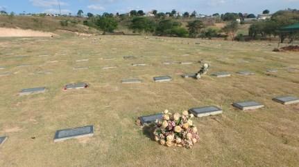 My aunt's grave