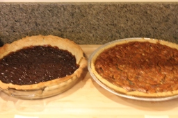Gf and Df pies