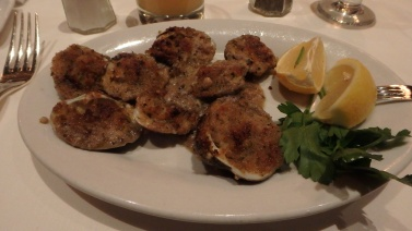 Clams from Gallaghers Steakhouse
