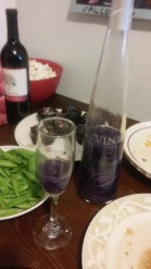 Galentine's Day Purple Wine
