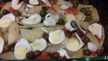 Portuguese cod fish