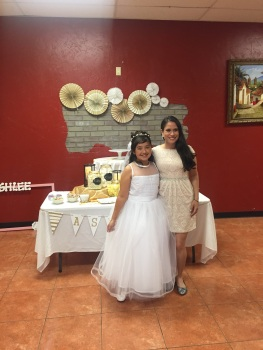 Little Sister's First Communion